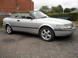 saab 900 convertible 1996 saab 900 s 2 0l manual convertible short mot july 24th in