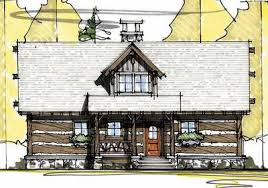 Vacation Cottage House Plans by Vacation Cabin With Vaulted Ceilings 18741ck Architectural