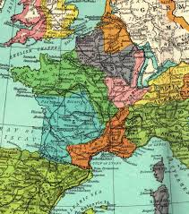 Map Of England And France by Historical Maps Overview