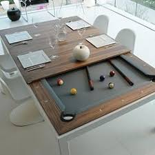 PoolDining Table Diy Pool Table Pool Table Dining Table And - Kitchen pool table