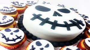 Halloween Cake Pans by Jack Skellington Nightmare Before Christmas Cake U0026 Cupcakes How