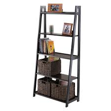 Leaning Bookcases Winsome Wood Adam 5 Tier A Frame Shelf Amazon Ca Home U0026 Kitchen