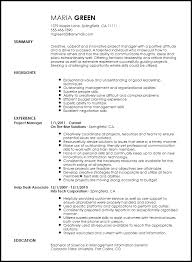 project manager resume templates management resume skills enchanting free creative project manager