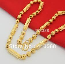 beaded gold chain necklace images Online shop fine gorgeous new arrivals high fashion men gold cover jpg