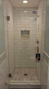 small shower ideas best 25 small bathroom showers ideas on