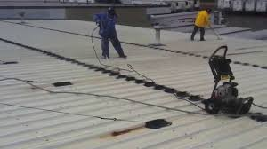 Surecoat Roof Coating by Metal Roof Coating Preparation Of Metal Roof Before Coating