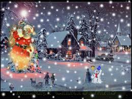 Merry Christmas Animated Snow Friend Merry Christmas Santa Graphic