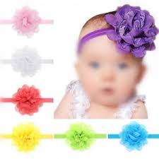 flower bands 13 pcs per unit adorable lace flower toddler hair bands