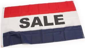 Blue Flag White X Outdoor Sale Flag Nylon Banner For Outside