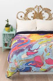 bedroom colorful magical thinking bed and colorful pillows also