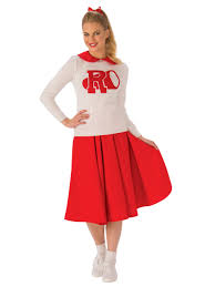 Womens Cheerleader Halloween Costume Grease Rydell Cheerleader Costume Adults Wholesale