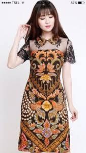 gambar model baju batik modern to make stuff to buy ankara dress pinterest kebaya batik