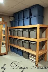 Large Storage Shelves by Storage U0026 Organization Wall Mount Garage Wooden Storage Shelves