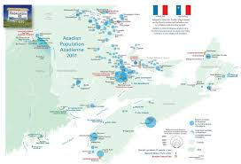 Map Of Quebec Province Acadian Deportation Migration And Resettlement Canadian