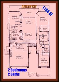 sun city palm desert ca floor plan for the amethyst model the