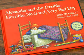 Bad Day Go Away A Book For Children Picture Story Book This Book Helps Teach Children That It Is Ok To