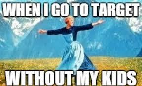 Meme Mom - going to target mom meme