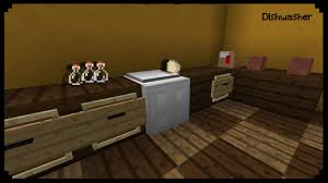 Minecraft How To Make A Furniture by Minecraft How To Make A Dishwasher Youtube