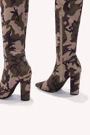 over knee camo boot na kd com