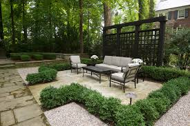 modern metal trellis patio traditional with lattice divider