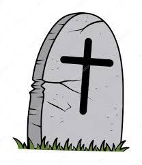 cartoon grave halloween vector illustration u2014 stock vector
