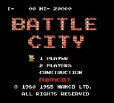 Play Games Battle City Tank