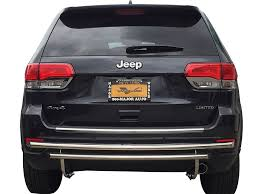 jeep rear bumper 11 17 jeep grand cherokee rear bumper protector guard double layer