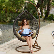 swing chair outdoor chairs ebay