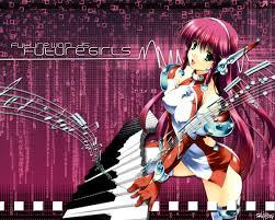 anime music girl wallpaper anime music girl wallpaper by harty73 on deviantart