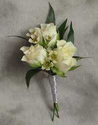 Boutonniere Flower Triple Spray Rose Boutonniere In Crystal Lake Il Countryside