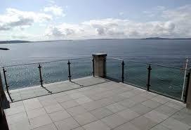 glass deck railings glass balcony railings residential glass