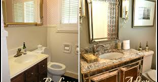 Remodeling A Tiny Bathroom by Small Bathroom Glam Redo Hometalk