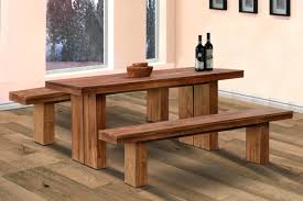 wooden bench table image home decor gallery what design style