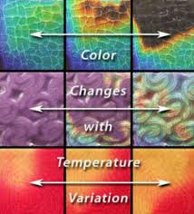 color changing tiles tile changes thermochromic color changing tile paint pinterest