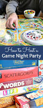 how to host a game night party