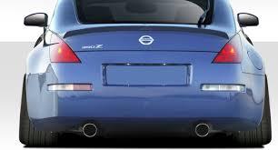 nissan 350z kit car 03 08 fits nissan 350z v speed duraflex body kit wing spoiler