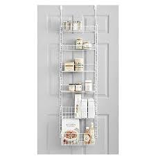over the door organizer salt pantry organizer in white bed bath beyond