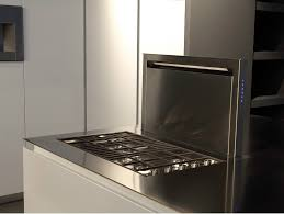 Electric Cooktop With Downdraft Ventilation Kitchen With Built In Griddle Cooktop And Downdraft Vent By Rifra