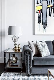 gray velvet sofa trendy elegant grey velvet tufted sofa interior