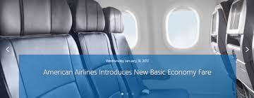 american airlines u0027 basic economy awardwallet blog
