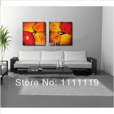 beautiful abstract dancer oil painting for living room wall art
