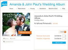 wedding photo album online diy create your own coffee table wedding album