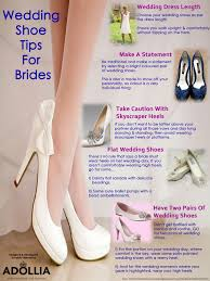 wedding shoes tips wedding shoe tips for brides visual ly