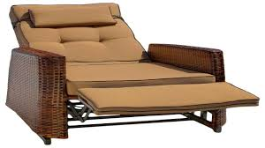 Wicker Settee Replacement Cushions 29 Resin Wicker Outdoor Recliner With Cushion Outdoor Wicker