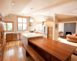 kitchen island with attached table table attached to island houzz