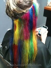 rainbow color hair ideas brandi s colors hair colors ideas