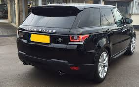 land rover rear used 2016 land rover range rover sport v8 autobiography dynamic
