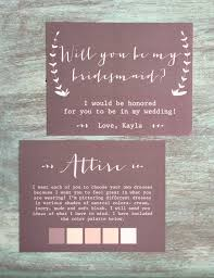 Bridesmaid Invitation Cards These Could Not Be Any More Amazing Will You Be My Bridesmaid
