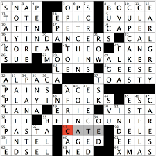 latest resume format 2015 for experienced crossword rex parker does the nyt crossword puzzle deceitful ballerinas