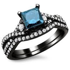 black and blue wedding rings black blue engagement rings shop the best deals for nov 2017